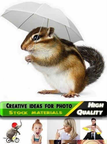 Creative ideas for photo Stock images #6