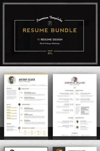 Premium Resume Bundle 371242