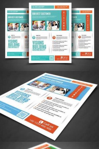 Business Firm Corporate Flyer Template