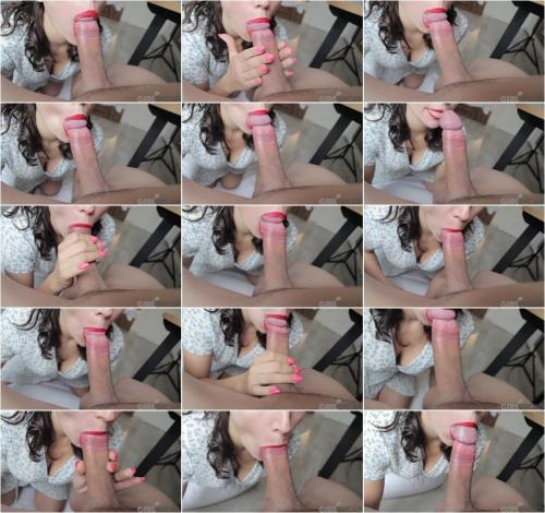 Alice Redlips - THE MORNING BEGINS WITH a GOOD BLOWJOB [FullHD 1080P]