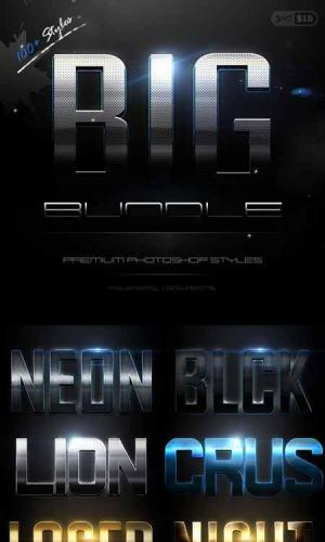 Text Effect Styles Big Bundle