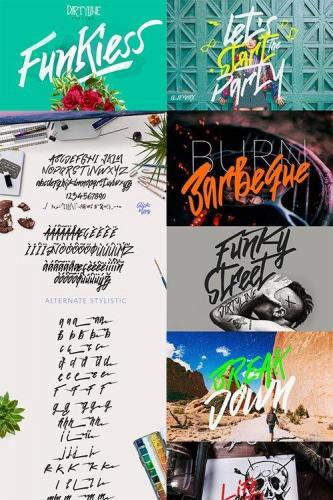 Funkiess - Display Typeface