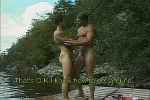 Awesomeinterracial.com- Hunky Gay Nudists Fucking on Boat