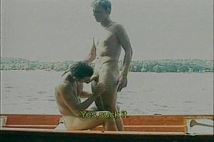 Awesomeinterracial.com- Euro Gays Have Careful Anal Sex In Boat