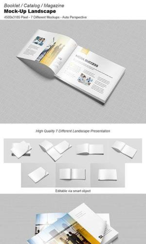 Booklet - Catalog - Mock-Ups 348924