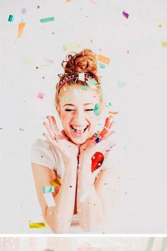 25 Confetti Photoshop Overlays