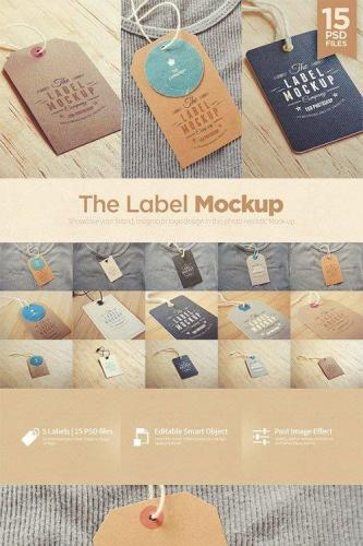Tags - Labels Mockup