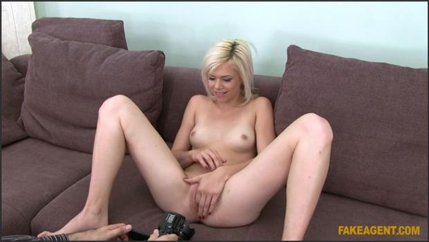 Fakehub.com- Cute Blonde Loves To Gargle Agent_s Cum