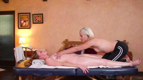 All Girl Massage   Tricking my new step mom (Marie McCray,  Go...